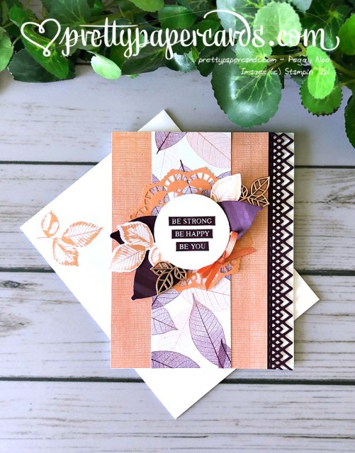 Stampin' Up! Nature's Poem - Peggy Noe - stampinup