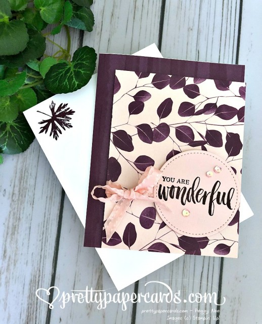 Stampin' Up! Nature's Poem dsp - Prettypapercards - stampinup