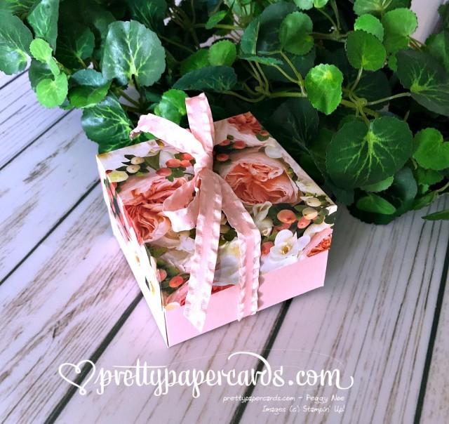 Stampin' Up! Petal Promenade Box - Prettypapercards - stampinup