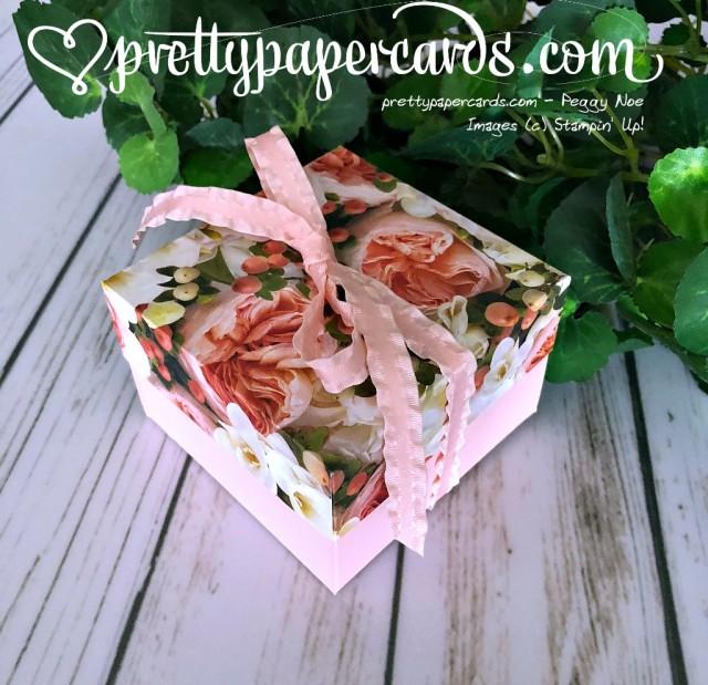 Stampin' Up! Petal Promenade Mini Box - Peggy Noe - stampinup