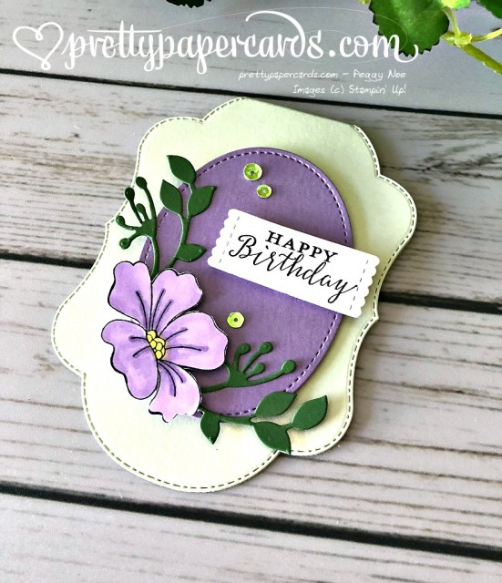 Stampin' Up! Purple Blended Seasons - Prettypapercards - stampinup