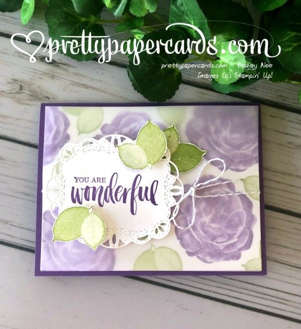 Stampin' Up! Rooted in Nature Healing Hugs - Peggy Noe - stampinup