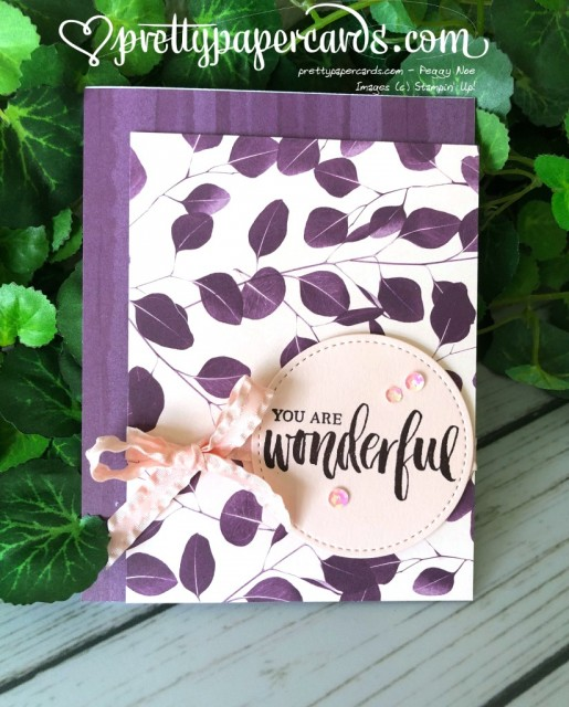 Stampin' Up! Rooted in Nature cards - Peggy Noe - stampinup