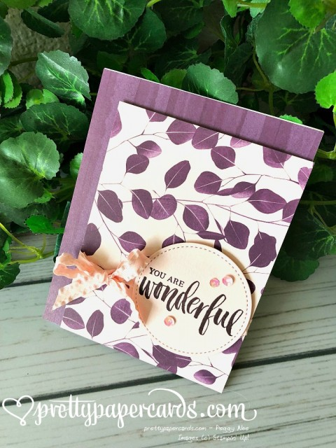 Stampin' Up! Rooted in Nature cards - Prettypapercards - stampinup