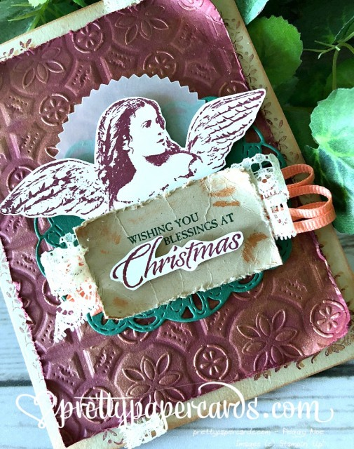 Stampin' Up! Angels on Earth Card - Peggy Noe - stampinup