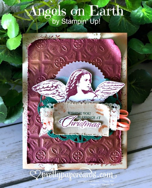 Stampin' Up! Angels on Earth Card - Prettypapercards - stampinup