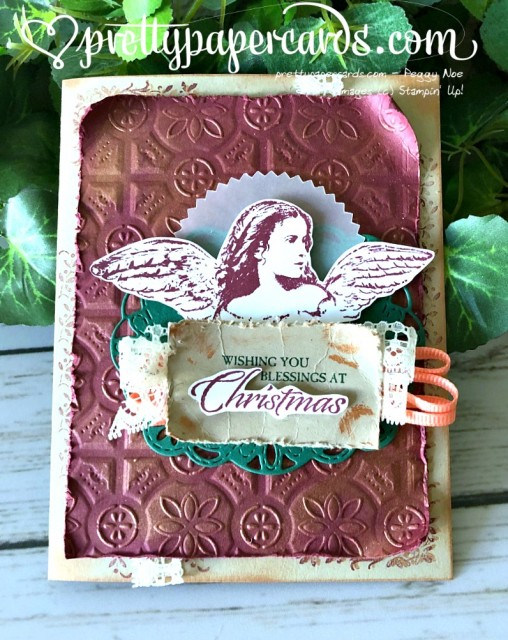 Stampin' Up! Angels on Earth - Peggy Noe - stampinup