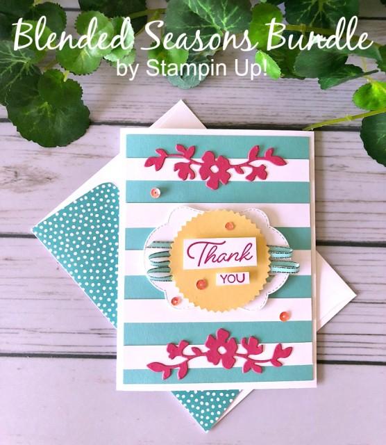 Stampin' Up! Bermuda Blended Seasons - Prettypapercards - stampinup