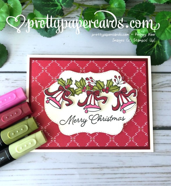 Stampin' Up! Blended Seasons Card - Peggy Noe - stampinup