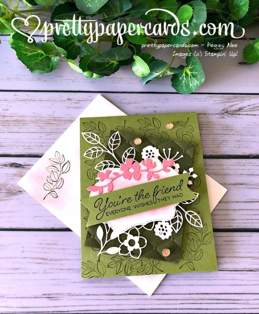 Stampin' Up! Blended Seasons Friend - Peggy Noe - stampinup