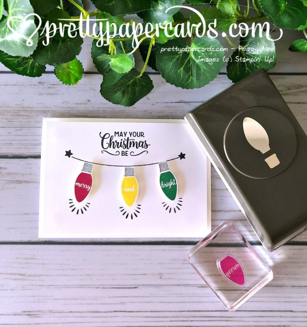 Stampin' Up! Bright Christmas - Peggy Noe - stampinup