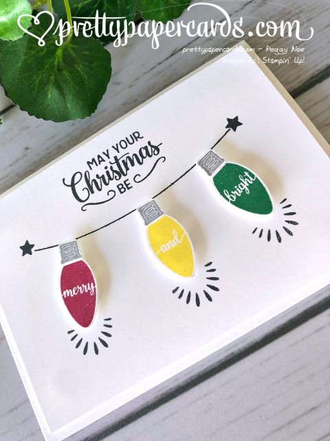 Stampin' Up! Christmas Lights - Peggy Noe - stampinup