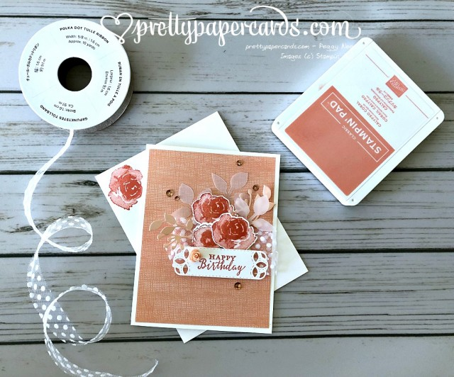 Stampin' Up! First Frost Birthday - Peggy Noe - stampinup