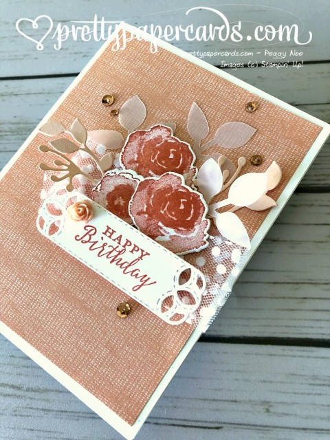 Stampin' Up! First Frost Birthday - Prettypapercards - stampinup