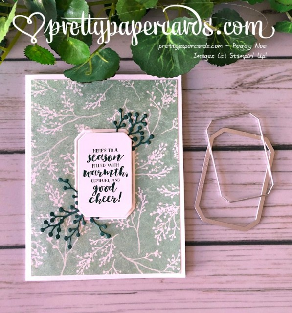 Stampin' Up! First Frost Holiday Card - Prettypapercards - stampinup