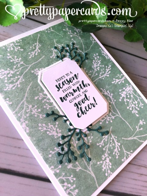 Stampin' Up! First Frost Holiday - Peggy Noe - stampinup