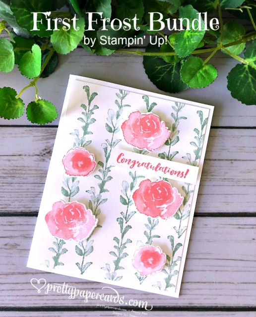 Stampin' Up! First Frost Stamp Set - Prettypapercards - stampinup