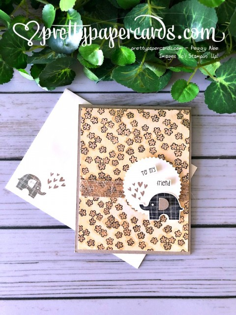 Stampin' Up! Little Elephant - Peggy Noe - stampinup