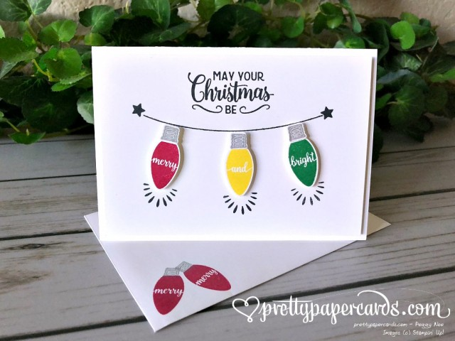 Stampin' Up! Making Christmas Bright - Peggy Noe - stampinup