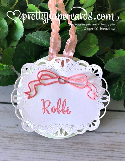 Stampin' Up! Nametags - Peggy Noe - stampinup