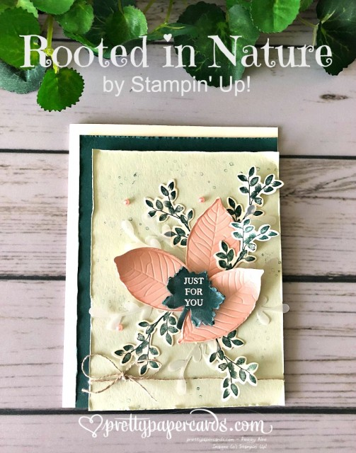 Stampin' Up! Rooted in Nature Card - Prettypapercards - stampinup