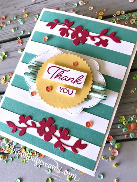 Stampin' Up! Striped Blended Seasons - Peggy Noe - stampinup