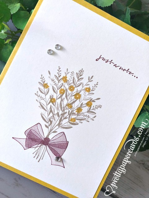 Stampin' Up! Wishing You Well - Prettypapercards - stampinup