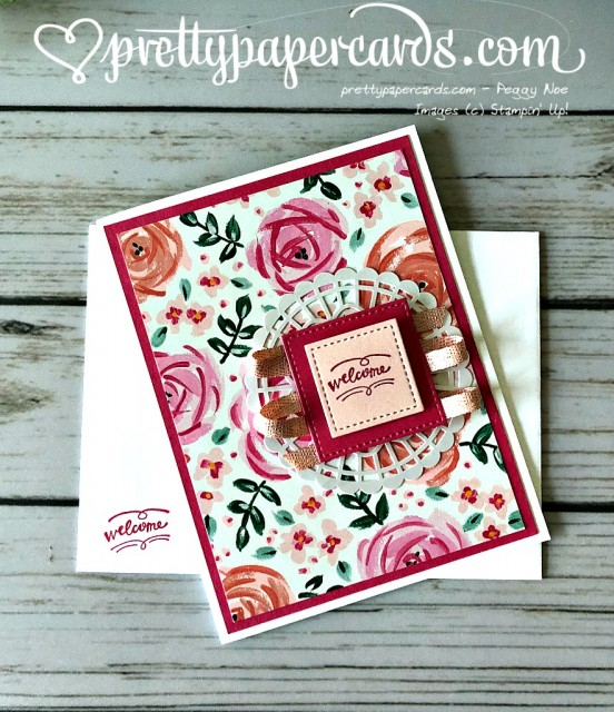 Stampin' Up! Wood Words - Peggy Noe - stampinup