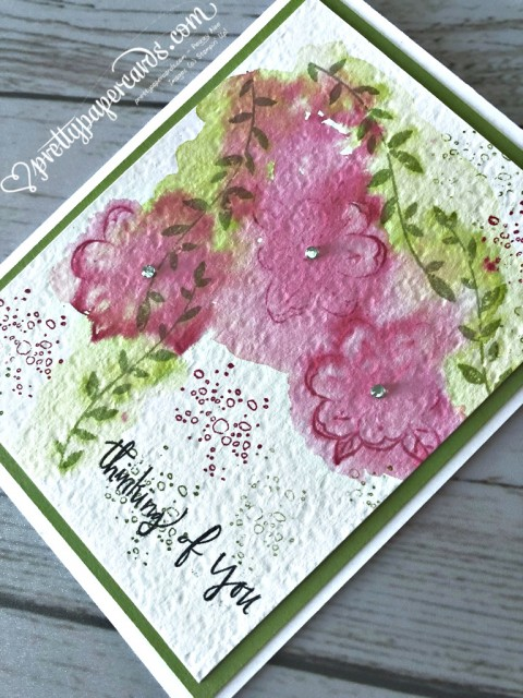 Stampin' Up! Botanical Bliss Card - Peggy Noe - stampinup