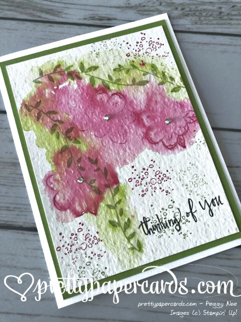 Stampin' Up! Botanical Bliss - Prettypapercards - stampinup