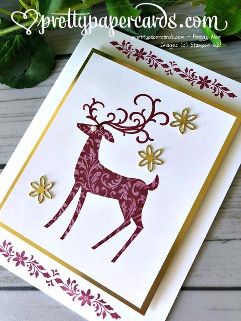 Stampin' Up! Dashing Deer - Peggy Noe - stampinup