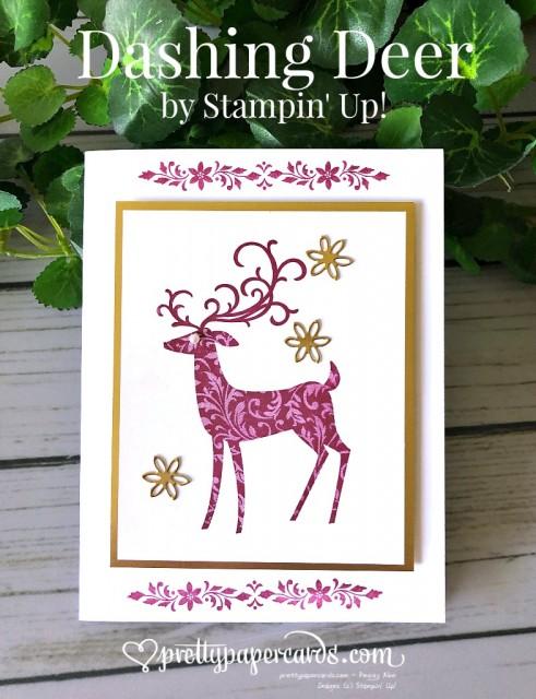 Stampin' Up! Dashing Deer - prettypapercards stampinup
