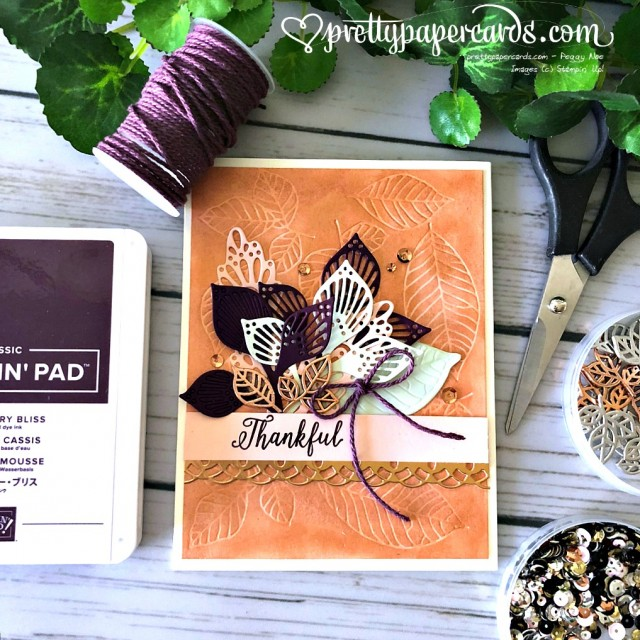 Stampin' Up! Fall Leaves - Prettypapercards - stampinup