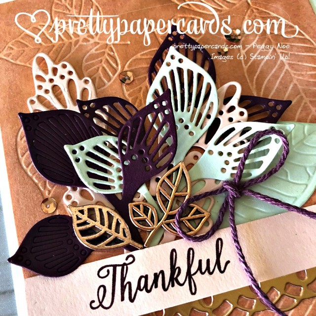 Stampin' Up! Falling For Leaves - Prettypapercards - stampinup