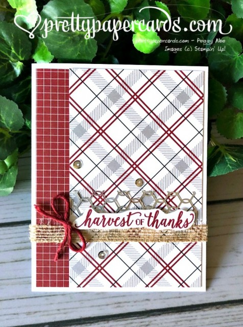 Stampin' Up! Falling for Leaves card - prettypapercards - stampinup