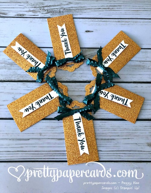 Stampin' Up! Glimmer Tags - Peggy Noe - stampinup