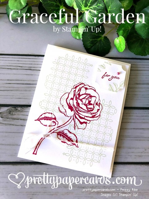 Stampin' Up! Graceful Garden -Peggy Noe - stampinup