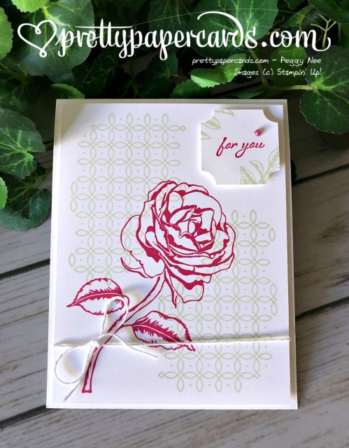 Stampin' Up! Graceful Garden -Prettypapercards - stampinup