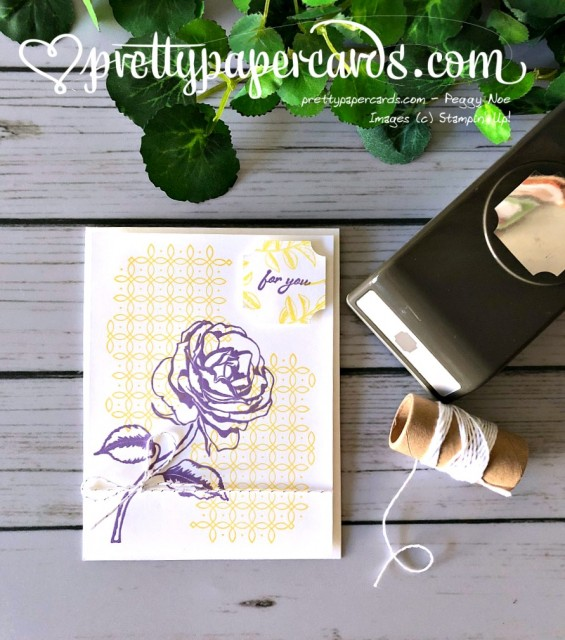 Stampin' Up! Graceful Garden card - Peggy Noe - stampinup