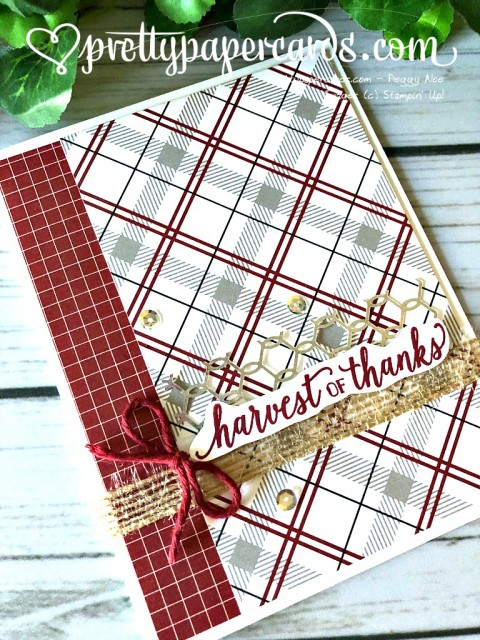 Stampin' Up! Harvest of Thanks - Prettypapercards - stampinup