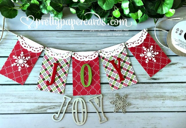 Stampin' Up! Holiday Banner - Peggy Noe - stampinup