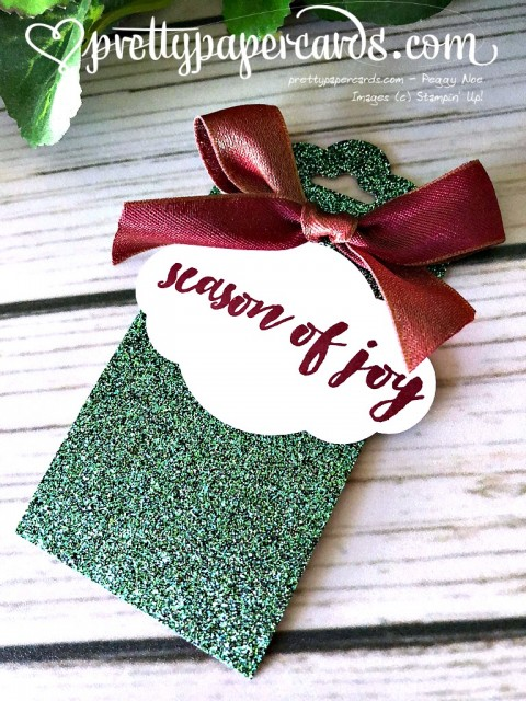 Stampin' Up! Holiday Tags - Peggy Noe - stampinup
