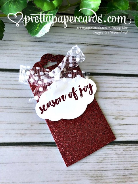 Stampin' Up! Holiday Tags - Prettypapercards - stampinup