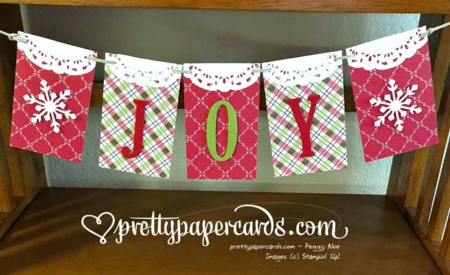 Stampin' Up! Large Letters Framelits - Peggy Noe - stampinup