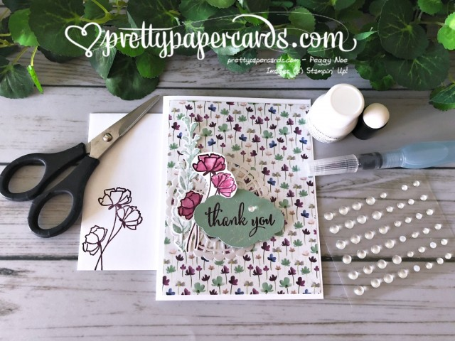 Stampin' Up! Love What You Do - Peggy Noe - stampinup