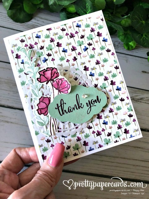 Stampin' Up! Love What You Do Thank You - Peggy Noe - stampinup