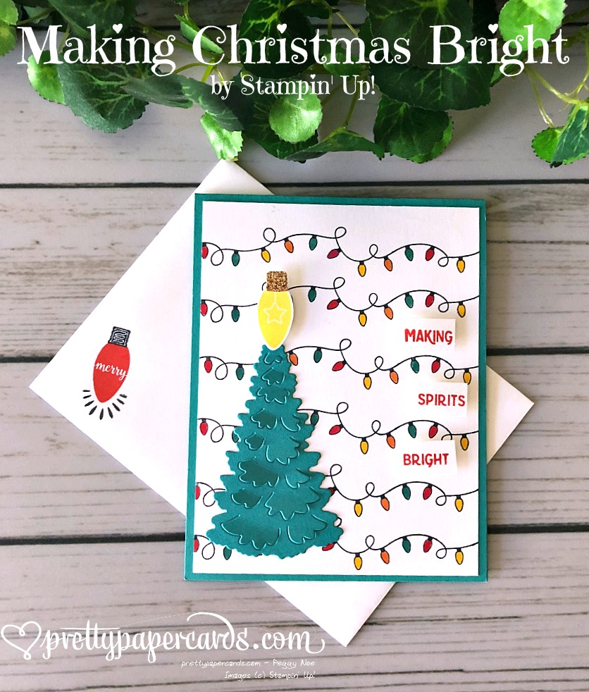 Making Christmas Bright Stamp Set Amp Punch Pretty Paper