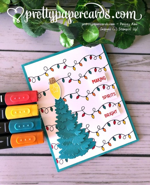 Stampin' Up! Making Christmas Bright - Prettypapercards - stampinup