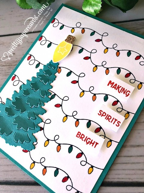 Stampin' Up! Making Spirits Bright - Prettypapercards - stampinup