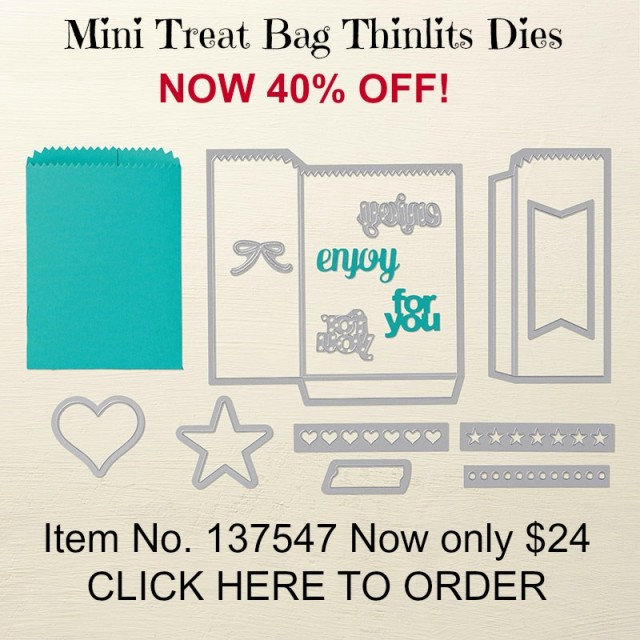 Mini Treat Bag Thinlits 137547G